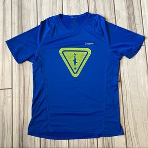 Patagonia polyester shirt. EUC like new